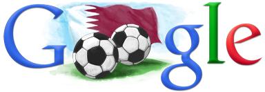 Google Logo: FIFA World Cup 2022 in Qatar